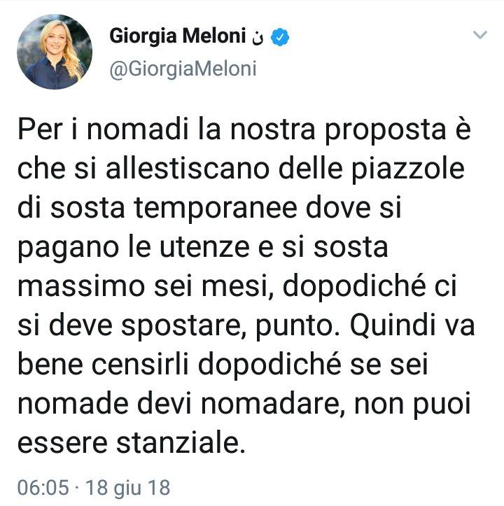 #Meloni