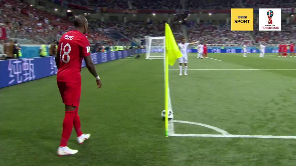 How did you feel when this went in early on?  #ThreeLions #WorldCup #bbcworldcup https://t.co/DRvTjomr7C