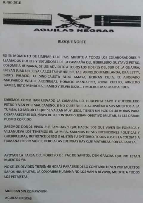 RT @HELIODOPTERO: Así fue como URIBE hizo bajar la votación de Petro en la Guajira. https://t.co/Kjm2wyZDWK