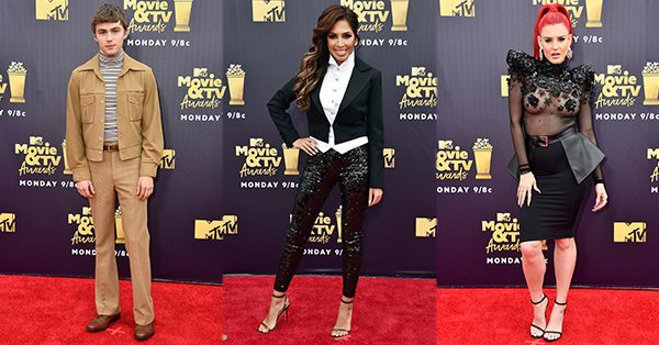 Love 'em or hate 'em, these were the riskiest looks at the MTVAwards: