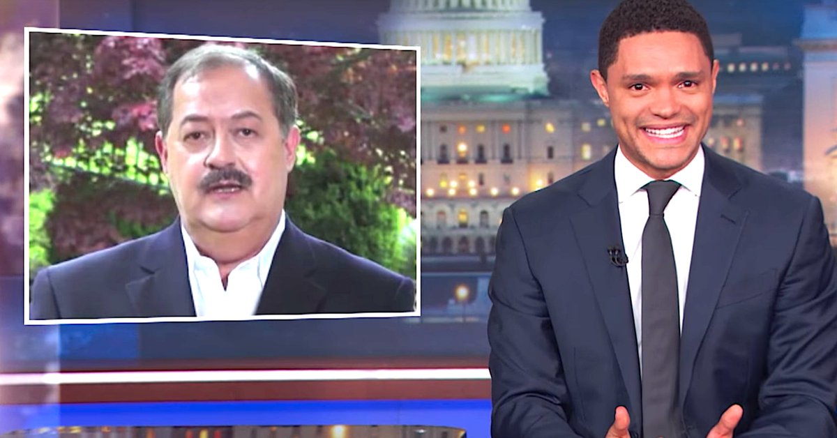 Trevor Noah Can't Get Enough Of Don Blankenship's Nutty Concession Speech https://t.co/FSXPoPTGm9 https://t.co/2cUFgJpCTi