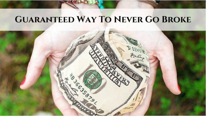 Guaranteed Way To Never Go Broke - https://t.co/NuKFVn17HR #broke #mlmsuccess #internetmarketing #mlm https://t.co/HE2PMAEjC6