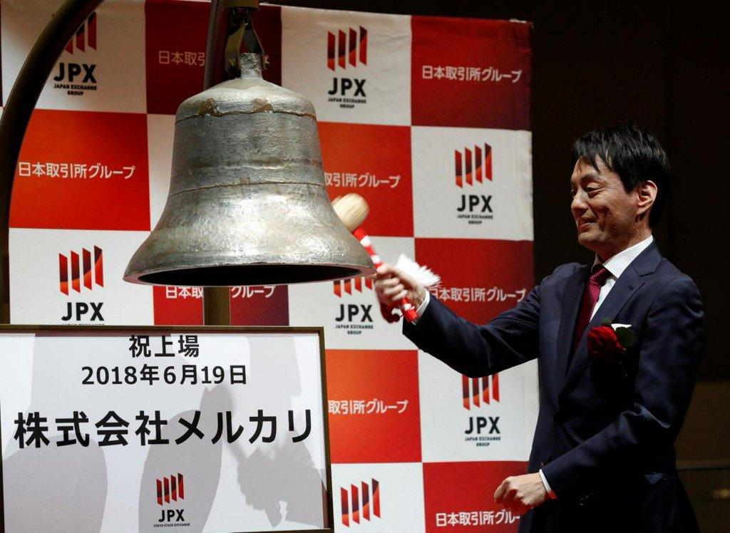 Rare Japanese unicorn Mercari closes up 77 percent in market debut https://t.co/dlrPCBQMiT https://t.co/U6j0Boj27y