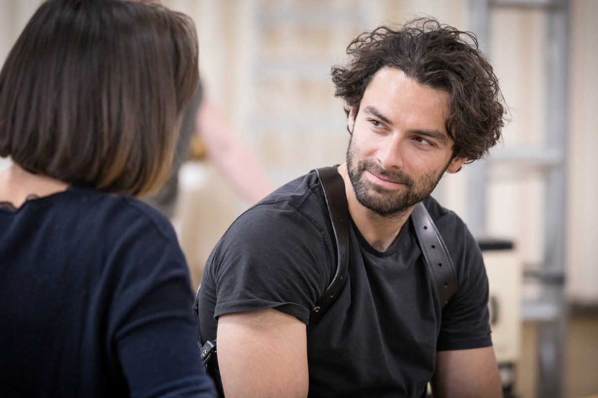 test Twitter Media - RT @MichaelGrandage: Happy birthday to #AidanTurner who is hard at work in tech for @LieutenantPlay today! https://t.co/LKUXn6xGar