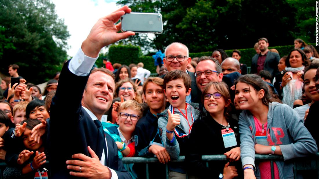 France's Emmanuel Macron tells teenager: 'Call me Mr. President'