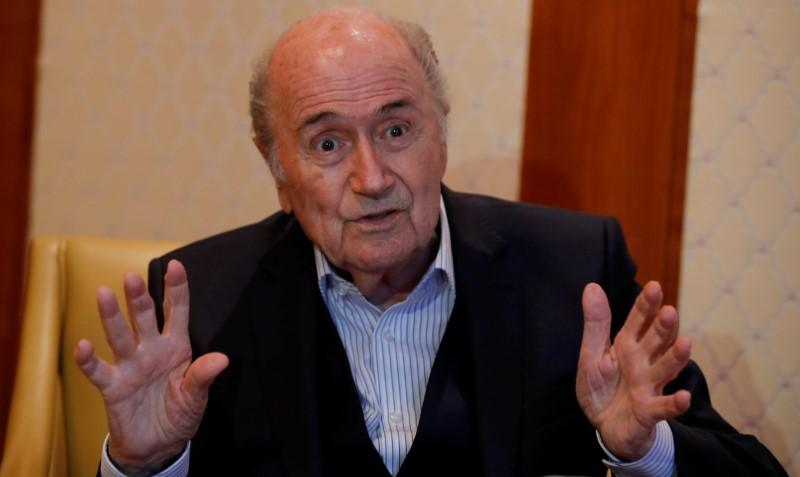 Ex-FIFA head Blatter flying to Moscow for World Cup: spokesman