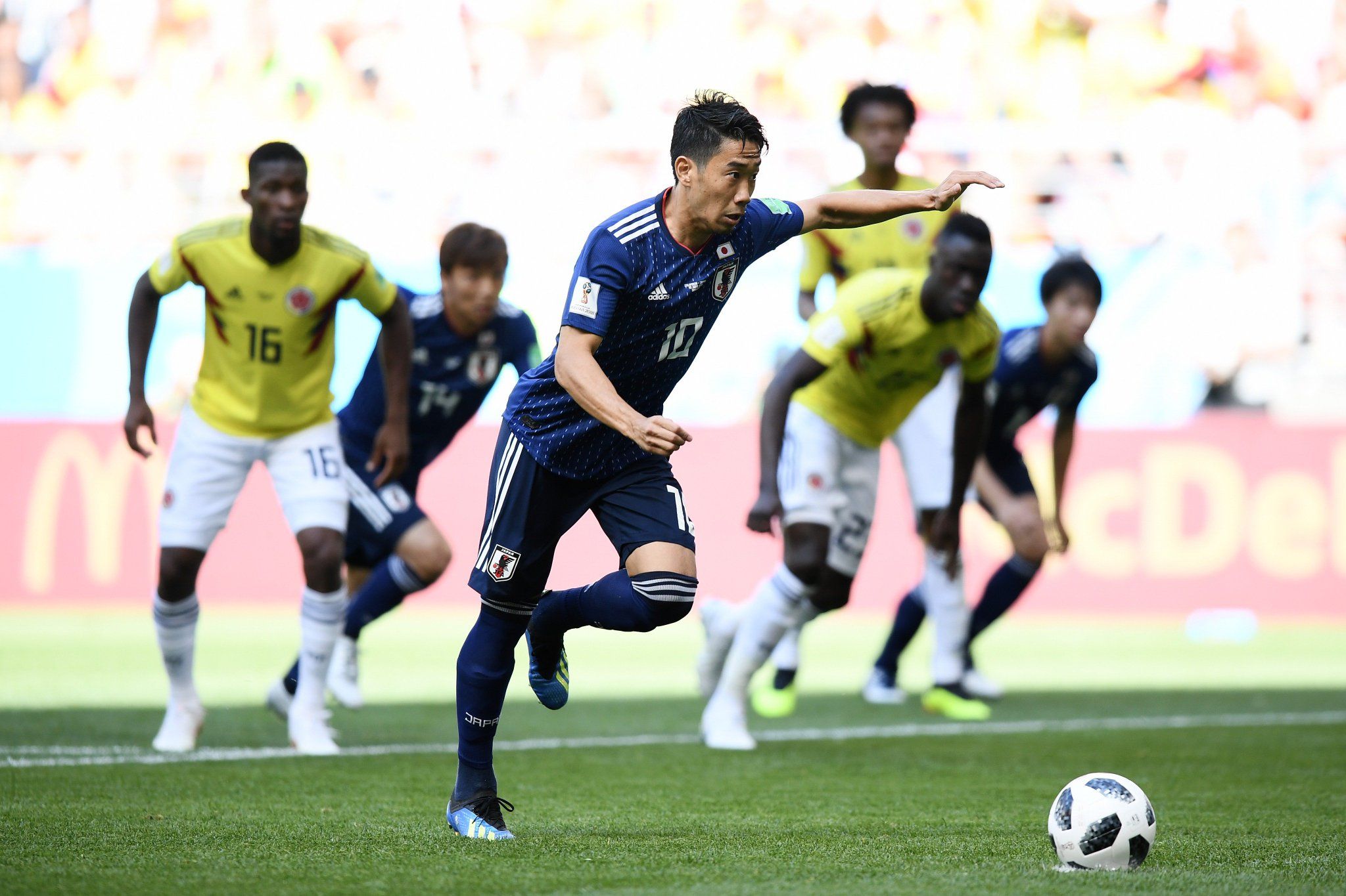 ���� Cool as you like from @BVB's Shinji Kagawa ��  #UCL #WorldCup https://t.co/dhoE1CY3Zs
