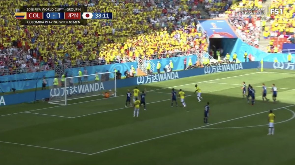 test Twitter Media - Japan's keeper just couldn't get to this Colombia equalizer in time https://t.co/Jcdg1eK4pM