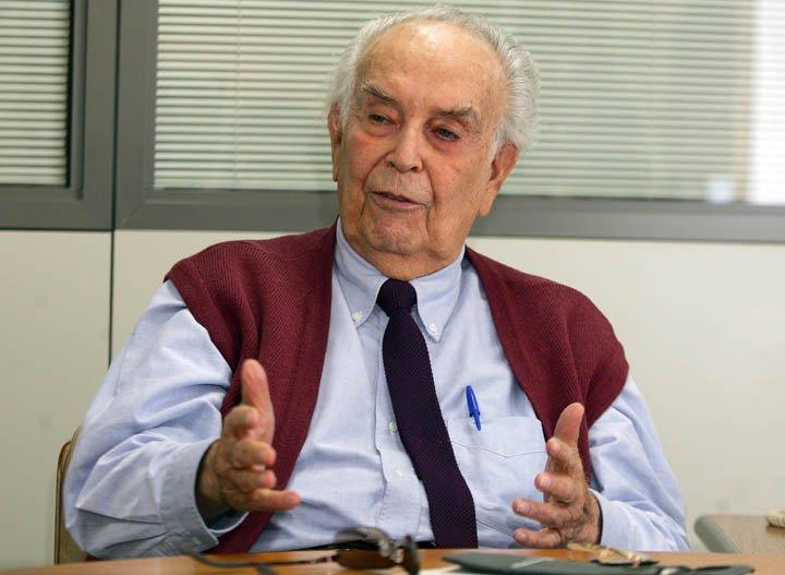 @BroadcastImagem: Eliezer Batista, ex-presidente da Vale e pai de Eike, morre aos 94 anos. Arquivo: Alaor Filho/Estadão