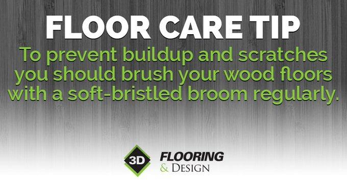 #FloorCareTip regular maintenance is key when taking care of hardwood floors. https://t.co/qML5sLMWkj