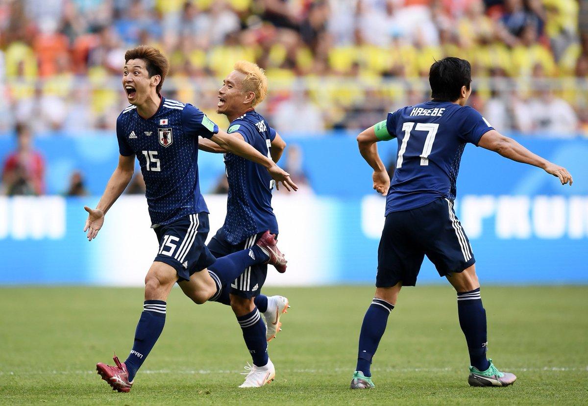 test Twitter Media - What a win for Japan #WorldCup https://t.co/15nV5Rmya3