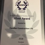 Congratulations to one of our Clients, Camilleri Construction, who achieved ROSPA Silver at the first attempt. https://t.co/0skCnwYgPy