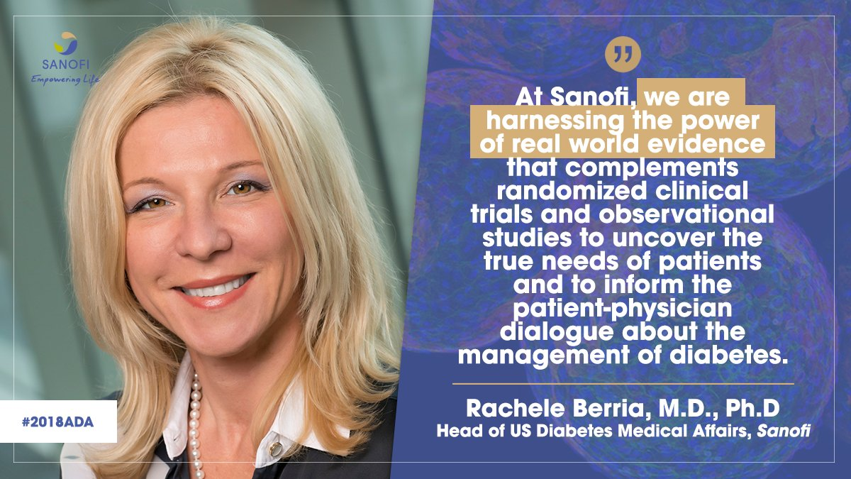 test Twitter Media - Heading into #2018ADA, Rachele Berria, MD, PhD, Head of US Diabetes Medical Affairs, offers her perspective on real world evidence in #diabetes: https://t.co/SR9Ho8Nj80 https://t.co/oovoC5GOGq