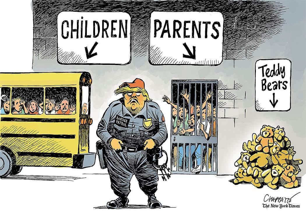 test Twitter Media - RT @ornikkar: États-Unis : Enfants de migrants séparés de leurs parents: la polémique enfle. (Par @chappatte) https://t.co/vOscv1zBFv