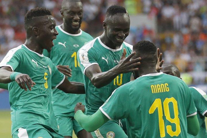 @BroadcastImagem: Senegal bate Polônia e garante primeira vitória africana na Copa da Rússia. Eduardo Verdugo/AP