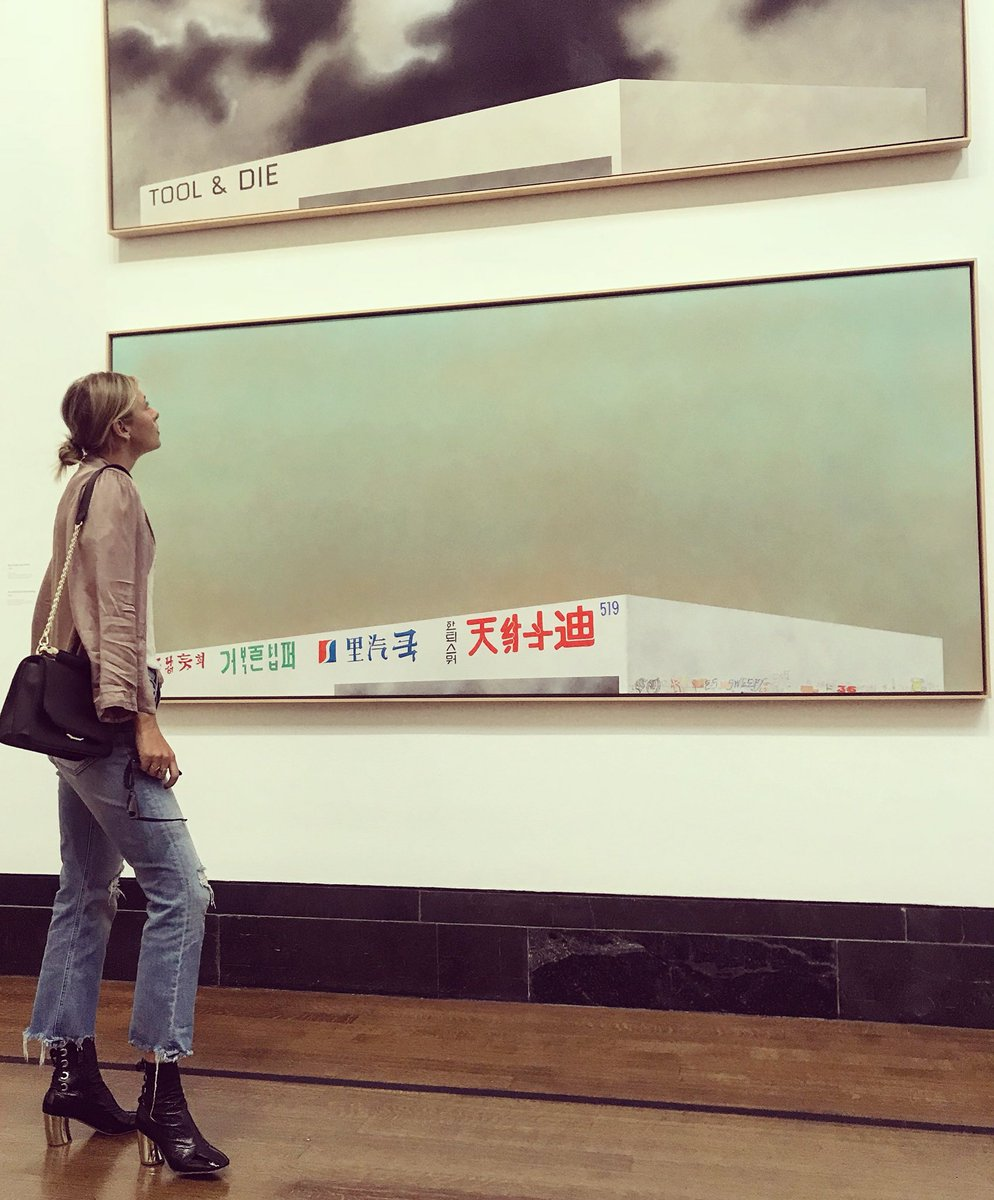 Ed Ruscha at #NationalGallery #London https://t.co/nodHvsekpe