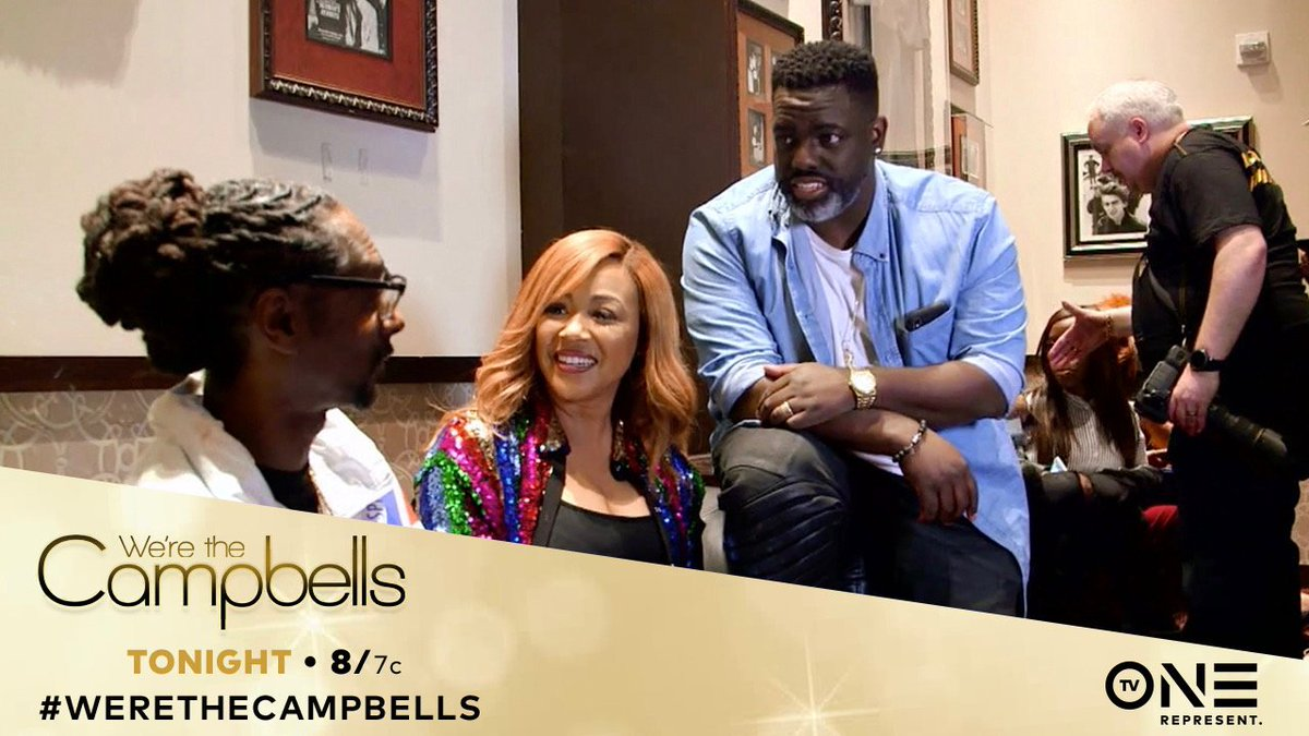 catch me on #WereTheCampbells TONIGHT on @tvonetv at 8/7c ! @ImEricaCampbell @WarrynCampbell https://t.co/B0thlqfyxV
