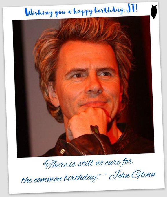 VERY happy birthday wishes to Duran Duran\s John Taylor!