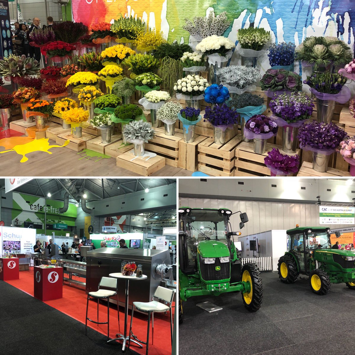 Plenty to see at #hortcon18 in #Brisbane. From...