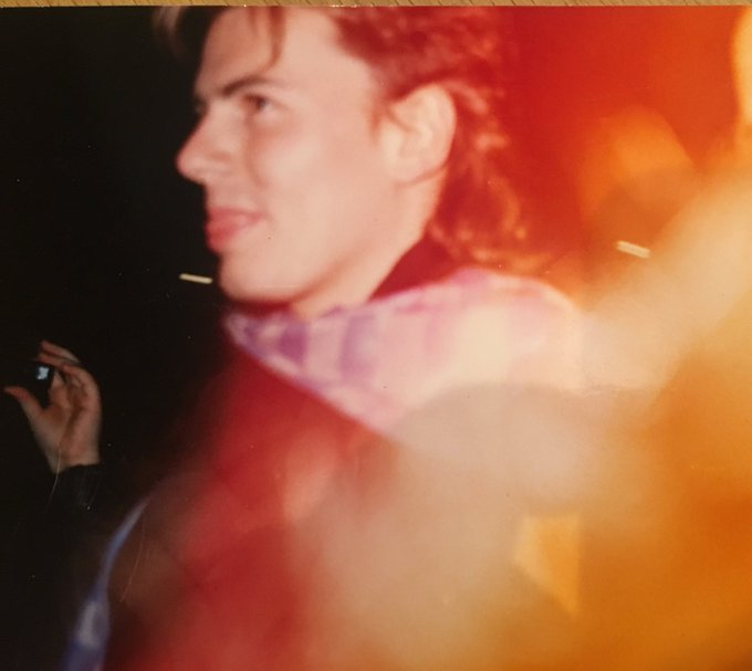 Happy Birthday to John Taylor Photo taken outside February 1987  x