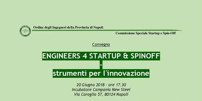 """test Twitter Media - Questo mercoledì Iniziativa parteciperà al convegno """"Engineers 4 Startup & Spinoff"""" che punta ad aprire le porte dell'Ordine agli iscritti ed all'ecosistema startup, per favorire l'imprenditorialità e il trasferimento tecnologico nella professione. https://t.co/sDJgjARBiF https://t.co/yu8QGKLeZ4"""