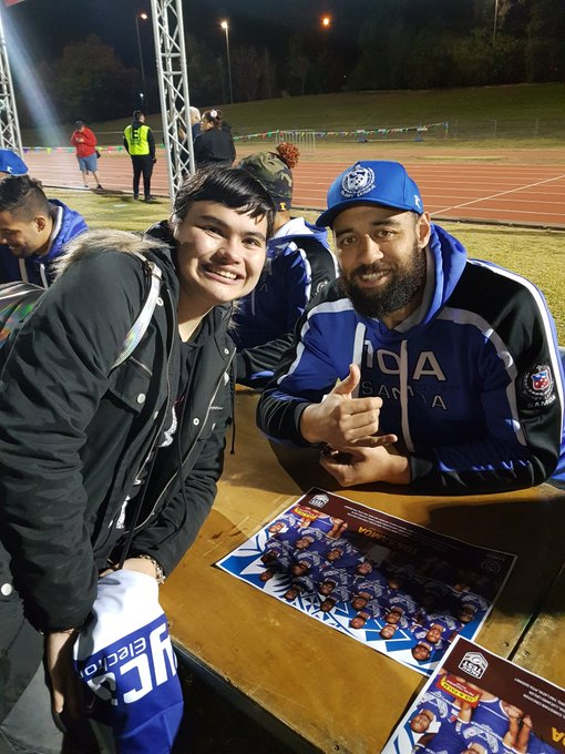 Met some former @NRL_Bulldogs too today!!! #ProudToBeABulldog https://t.co/Xpetoe5ciG
