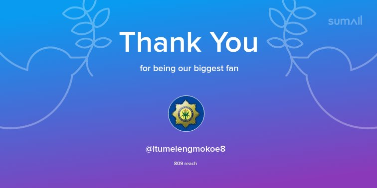 Our biggest fans this week: Thank you! via 0gLtBfT6te 3I