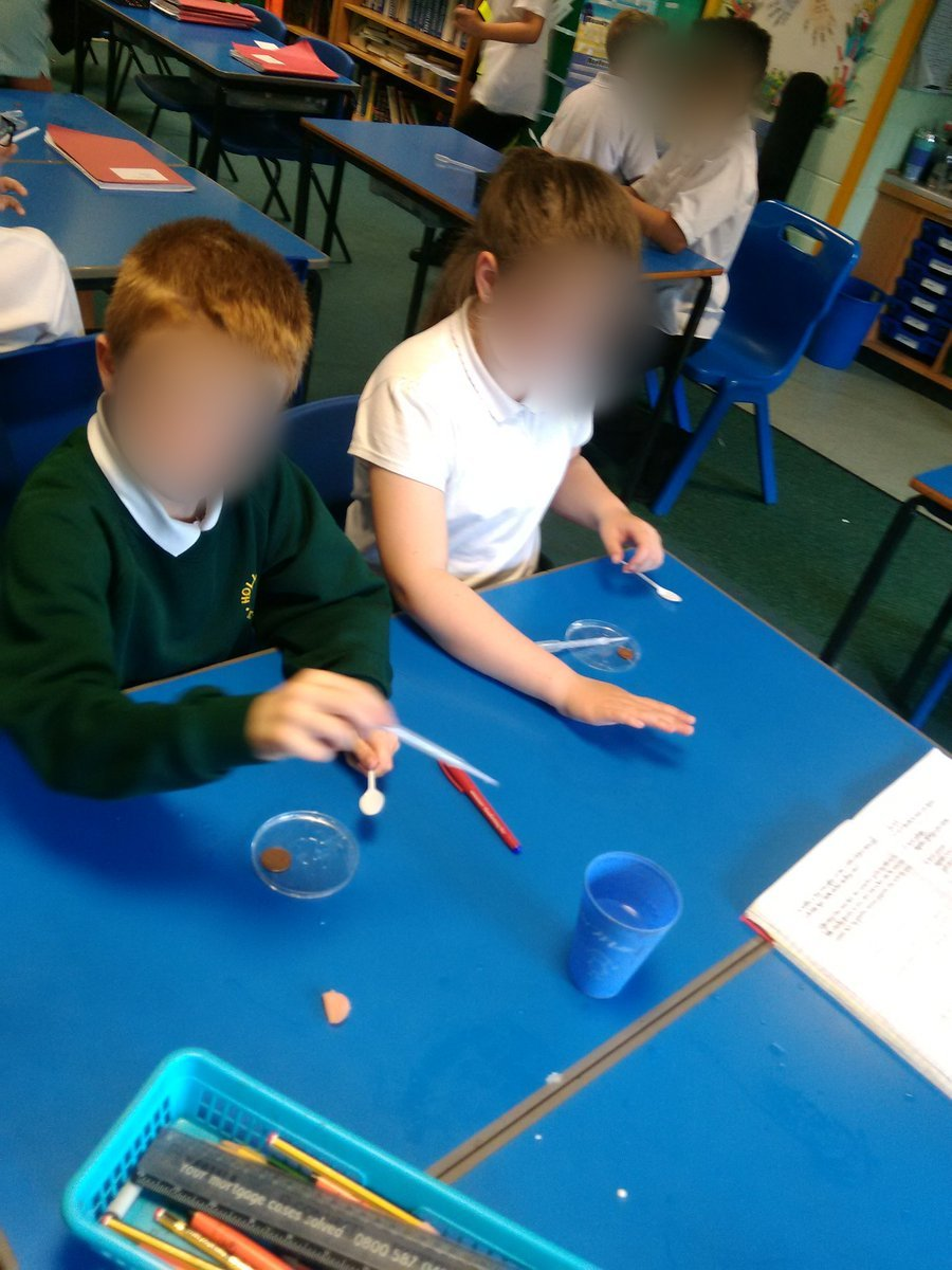 test Twitter Media - Science Bite 3 from Year 5 - making and testing ice cream and then seeing how many drops of water we could get on a coin! How do you think we made the ice cream with out a freezer?  @RedPSTT #scienceweek https://t.co/RXXbOYK28X