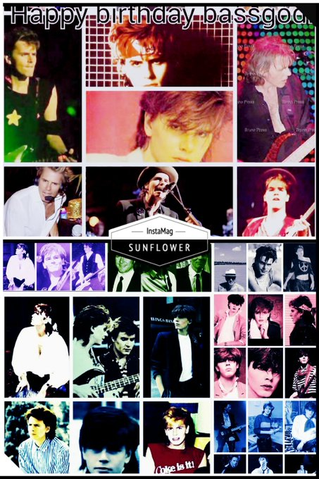 Happy birthday to \s John Taylor the most beautiful man in the world!