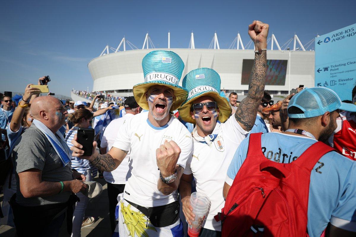 RT @GOAL_ID: KICK-OFF! Uruguay 0-0 Arab Saudi - https://t.co/CoaOvDdEpn #MatchdayGoal https://t.co/B5BnH7u4xd