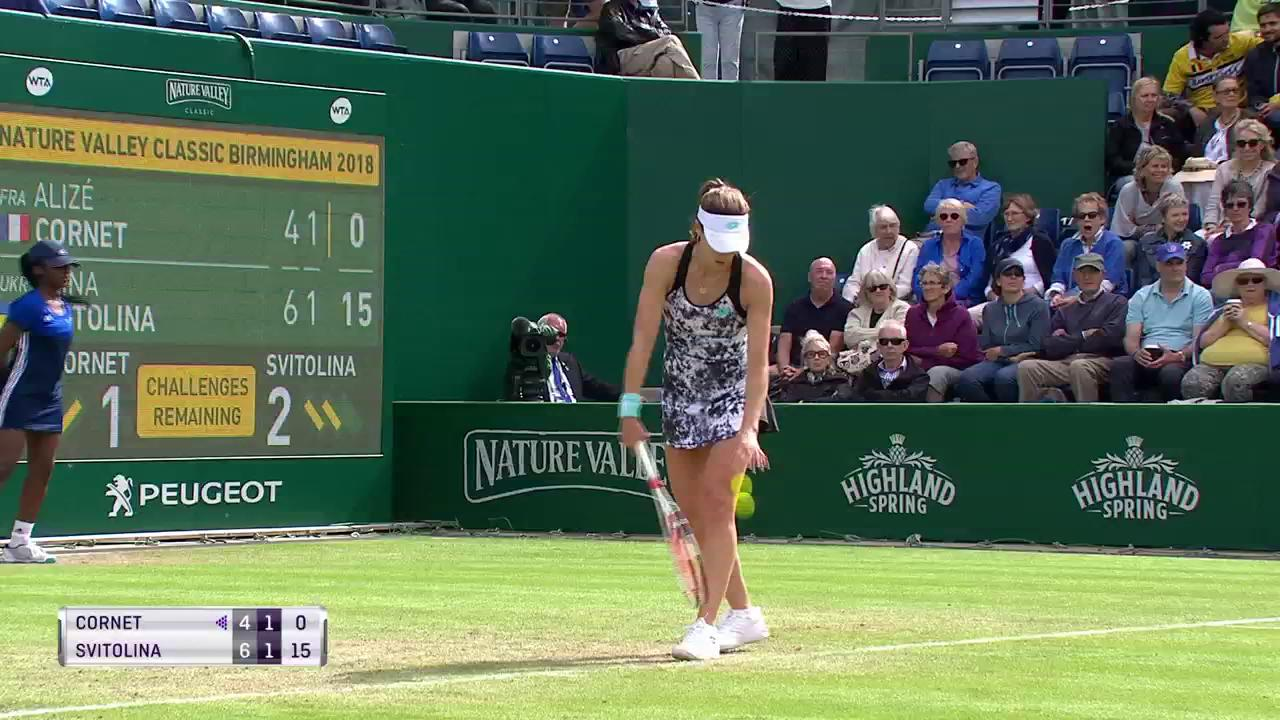 Another powerful winner from @ElinaSvitolina! #NatureValleyClassic https://t.co/0nOmLkxmio