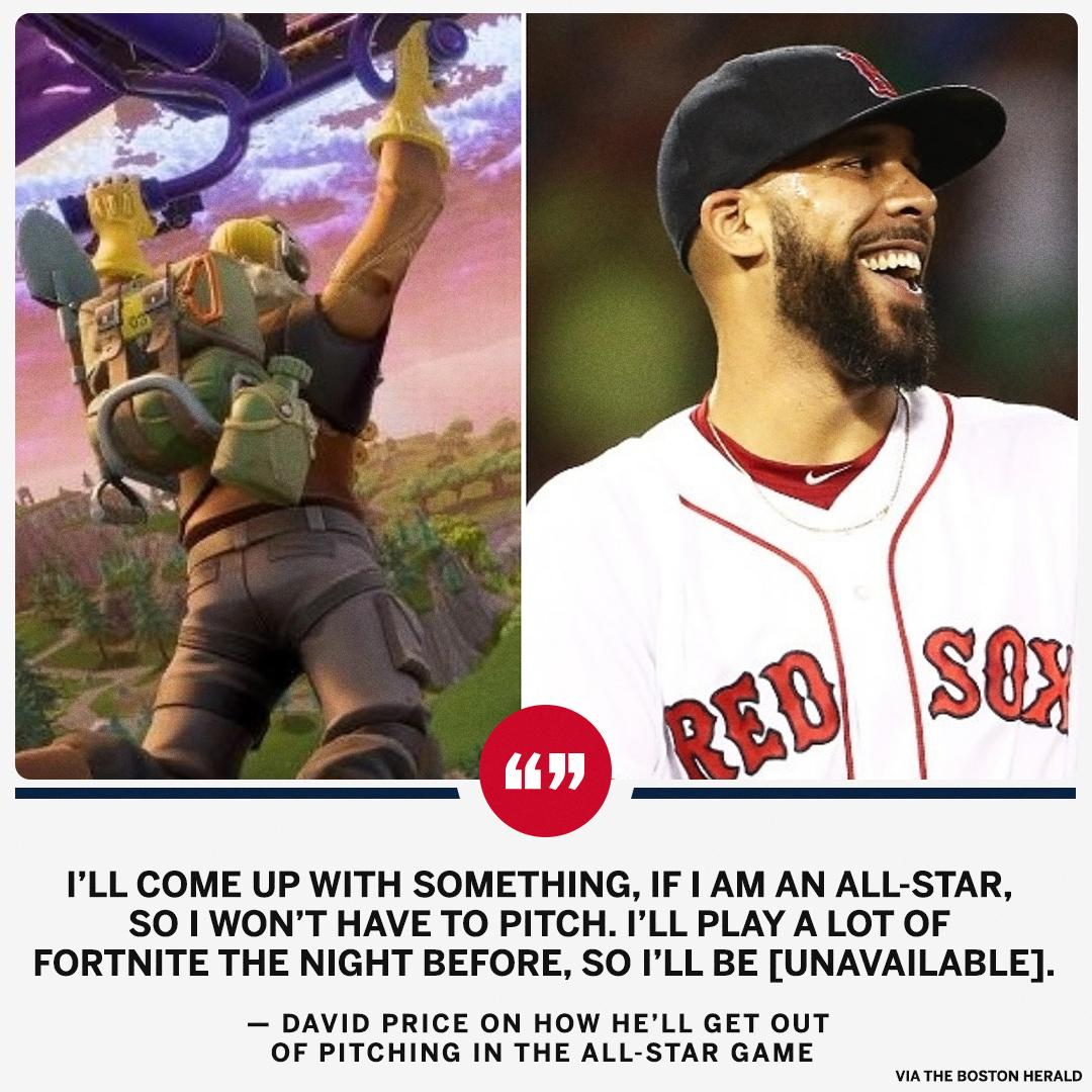 David Price knows where he doesn't want to drop: the All-Star Game. https://t.co/YIK012DE3m