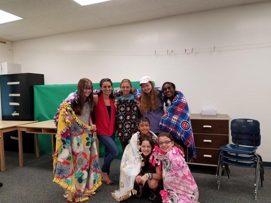 test Twitter Media - Warmth. Students in L. Kurtz's Summer School Service Learning class made 7 blankets in 4 hours for Project Linus which provides a comforting blanket to children in need. https://t.co/q9VQQ5X8Y4 #d30learns https://t.co/4DNPuuXhSX