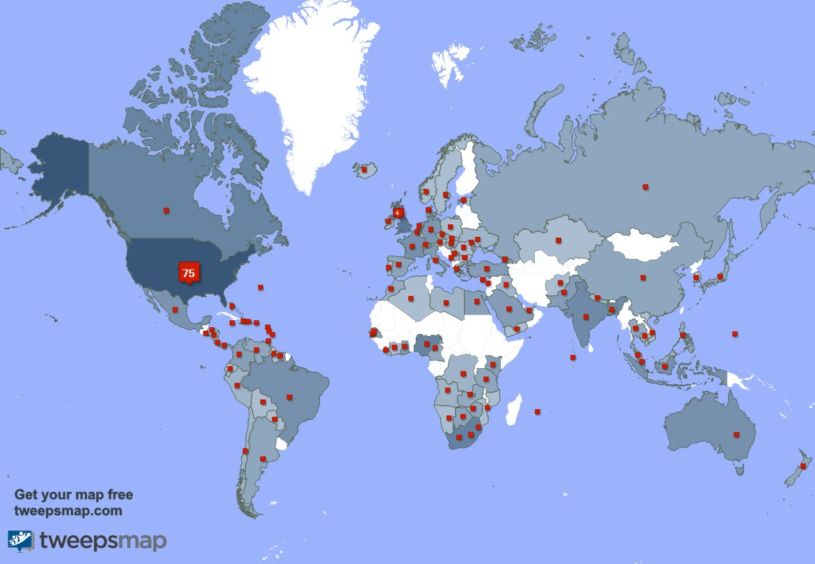 I have 14 new followers from USA, and more last week. See GCleYnYflL Y2VhP