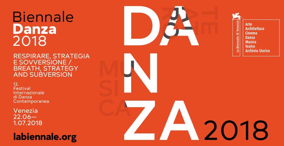#BiennaleDanza2018