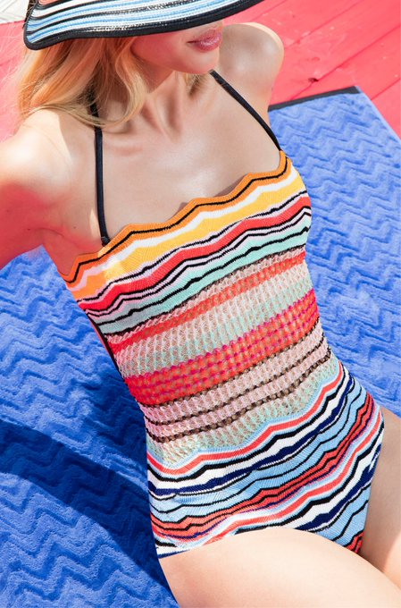 RT @Missoni: Discover all Missoni bikinis and get ready for the beach! https://t.co/Mq8Sr53sPv https://t.co/92C3tJ7a2s
