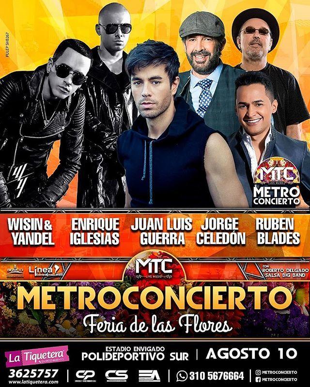 Metroconcierto Feria de las Flores