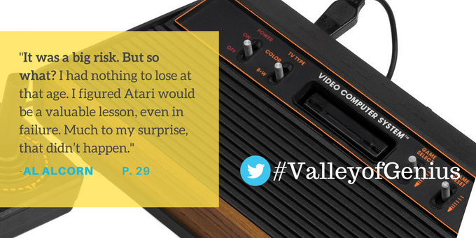 Before #eSports there was @alalcorn & @atari #ValleyOfGenius 🕹️📺🎮 https://t.co/xXeNg89ZjF
