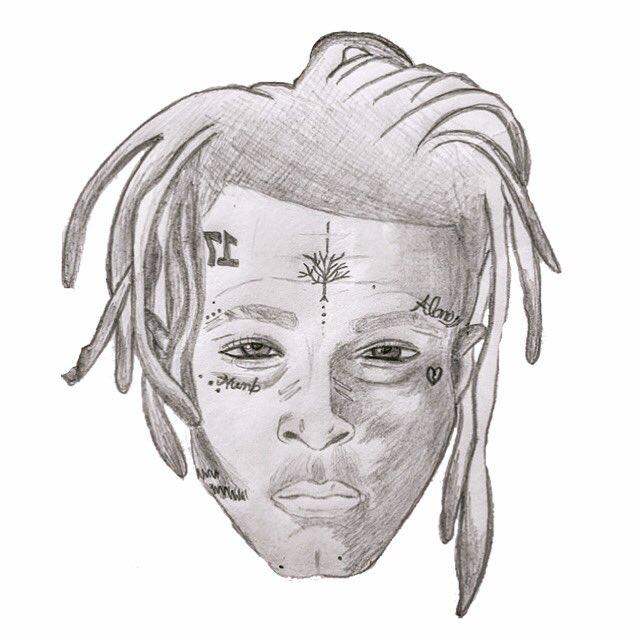Drawing Xxxtentacion: I Still Can Hear Your Voice💙rest In Peace. #xxxtentacion