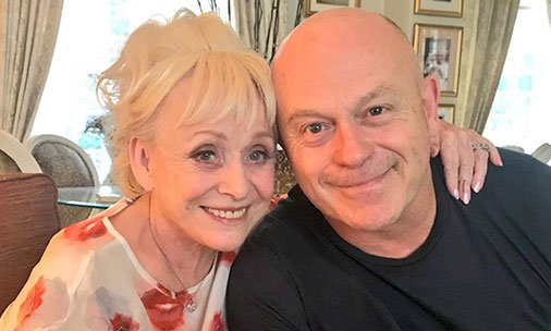 Ross Kemp praises TV mum Barbara Windsor for her bravery after Alzheimer's diagnosis: