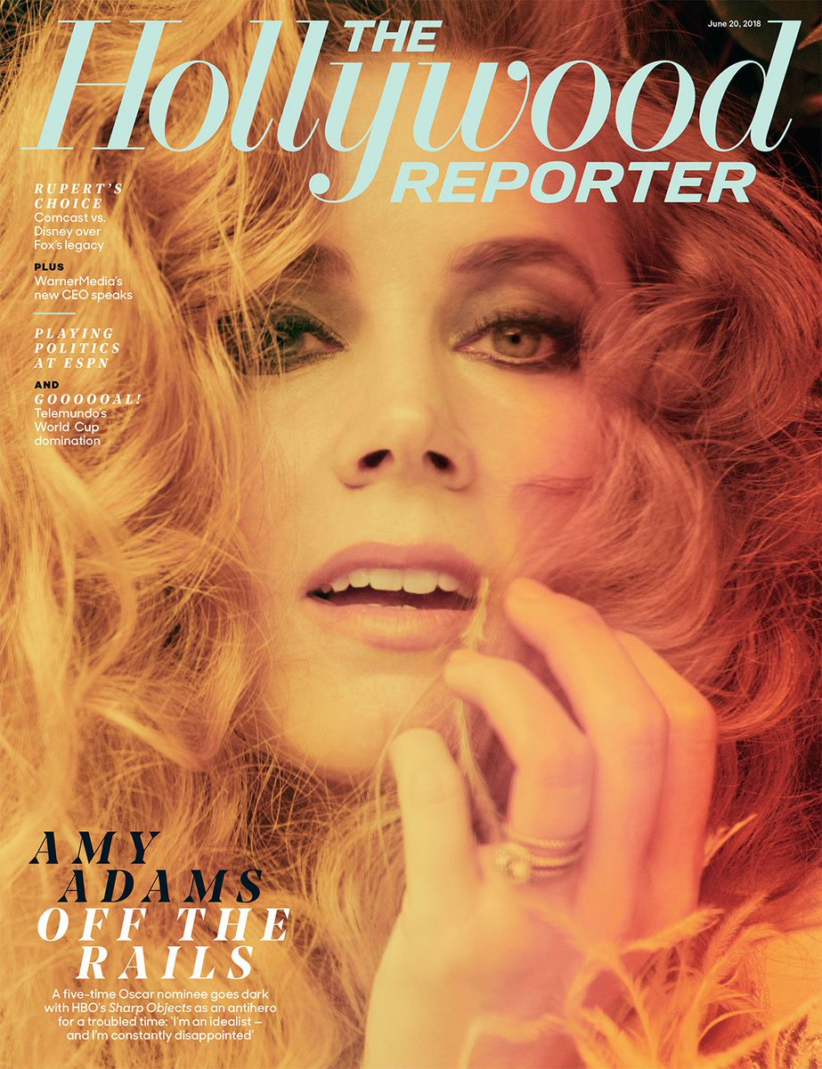 Pick up your copy of this week's issue: Amy Adams goes dark for