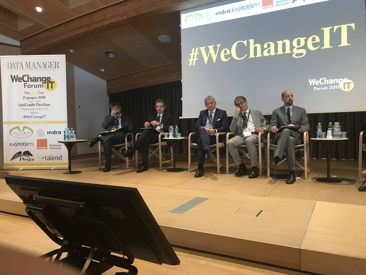#WeChangeIT