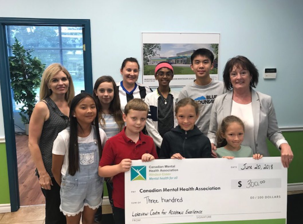 test Twitter Media - Thank you to @Lakeviewmontessorischool for taking a stand for mental health and donating $300 to the Sole Focus Project! #showyoursole https://t.co/rmRZWpFeJB