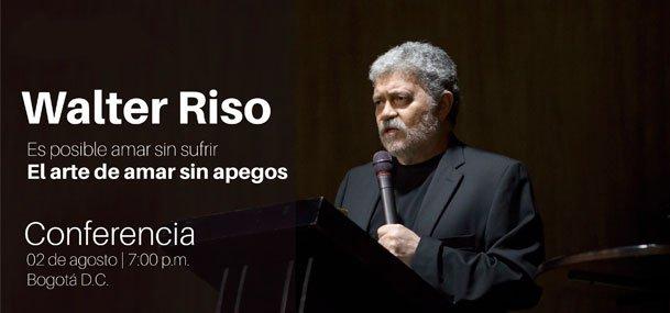 """Conferencia: """"El arte de amar sin apegos"""" con Walter Riso"""