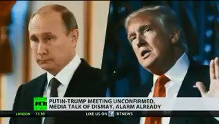 Putin-Trump meeting unconfirmed, media talk of dismay, alarm already