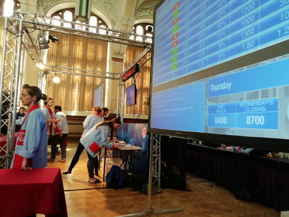 test Twitter Media - A huge well done to the year 10 money makers of the future who took part in the Stock Market Challenge at Manchester University today. A respectable 9th out of 22 teams. #maths@castlebrook #StockMarketChallenge https://t.co/LHsrVNLVYH