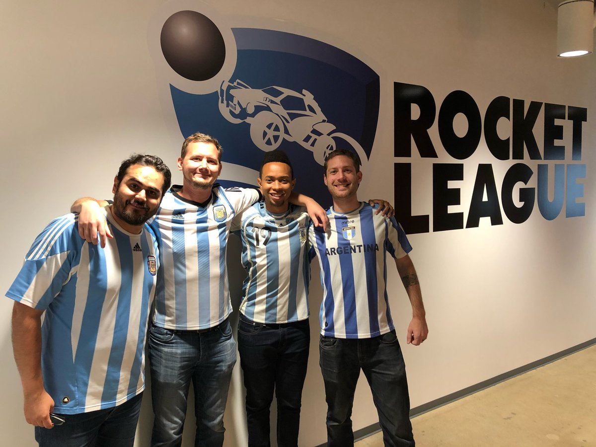 RT @PsyonixStudios: Who ya got? Some of our devs have made their allegiance pretty clear... #ARGCRO https://t.co/RywW5QRARw