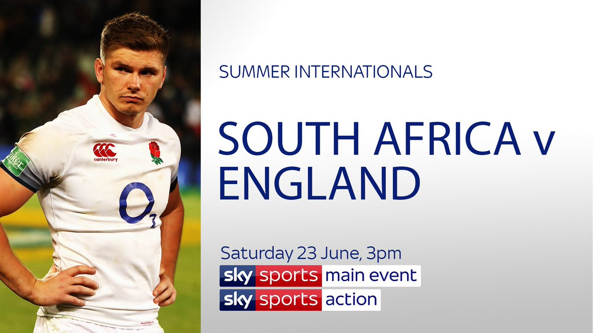 test Twitter Media - Can @EnglandRugby avoid a @Spingboks whitewash? #RSAvENG  South Africa v England - 3rd Test 📅 Saturday, 3pm 📺 Sky Sports Main Event https://t.co/LtoE5MGMRk