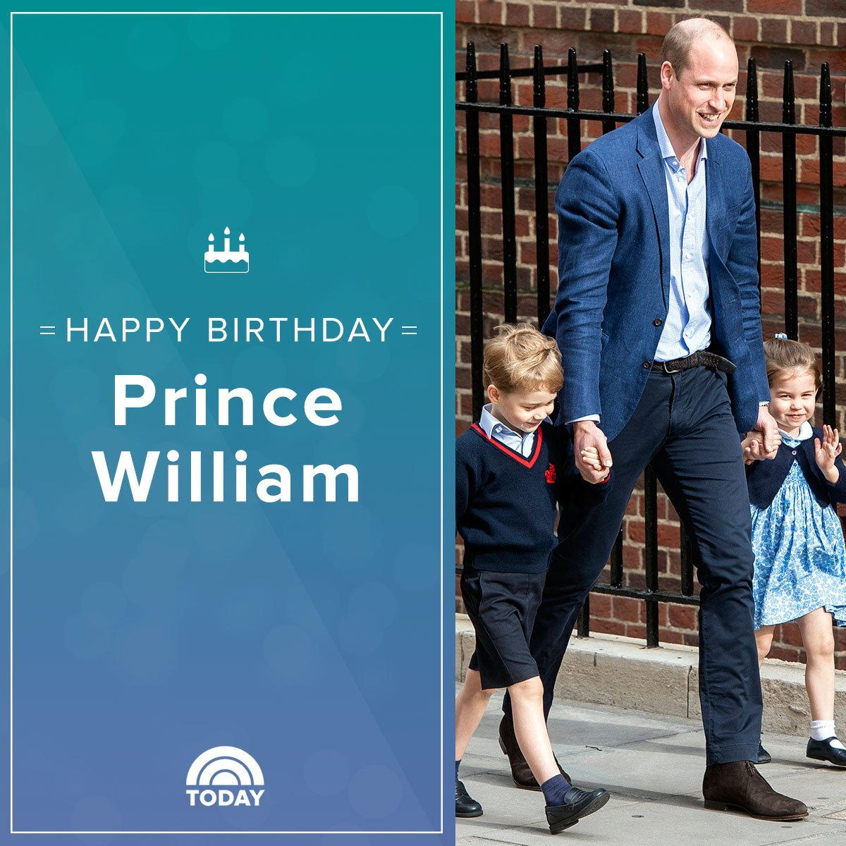 Happy birthday, Prince William!