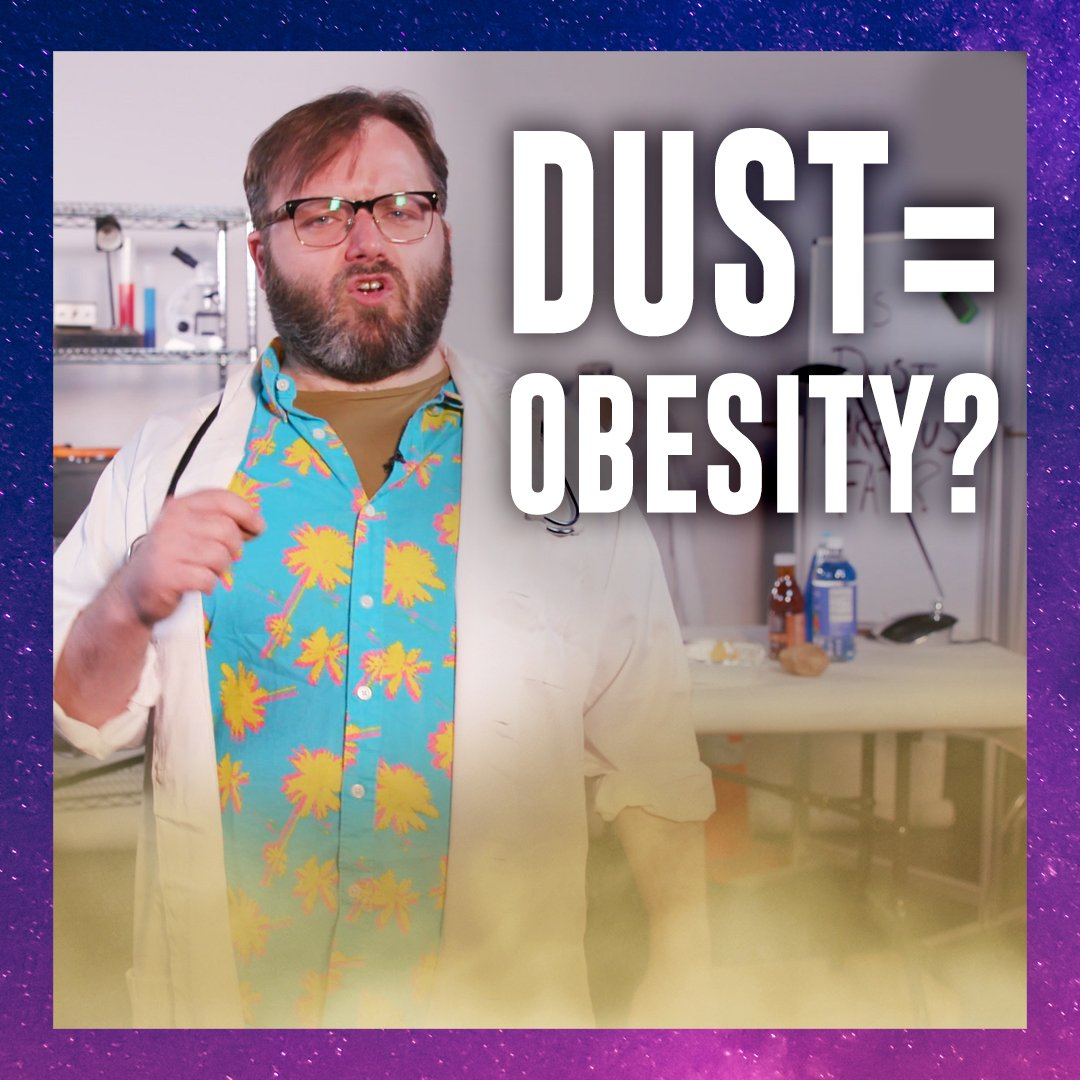 Is dust making us fat? Find out on 'Science?' https://t.co/CNYzzzI5qT